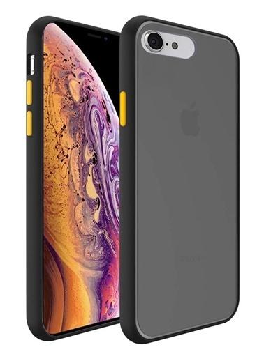MobilCadde Dafoni Union iPhone 6 Plus / 6S Plus Ultra Koruma Siyah Kılıf Siyah